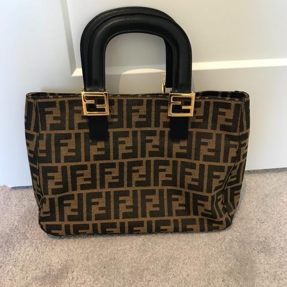 7776a4328859 Fendi Handbags - Vintage Fendi Handbag